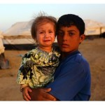 IRAQI Children Refugees due to ISIL